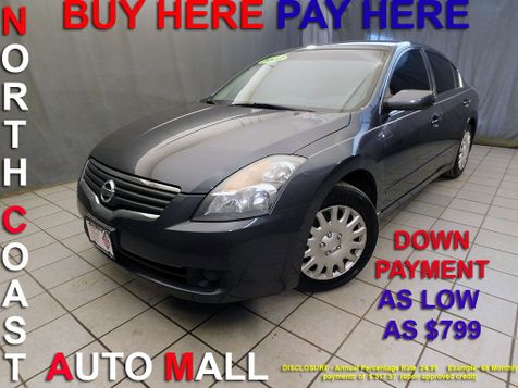 2008 Nissan Altima 2.5 S As low as $799 DOWN in Cleveland, Ohio