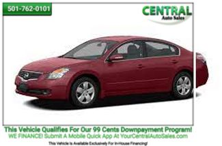 2008 Nissan Altima in Hot Springs AR