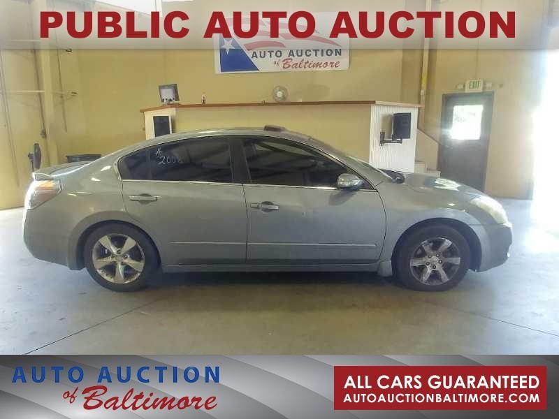 2008 Nissan Altima 3.5 SE   JOPPA, MD   Auto Auction of Baltimore  in JOPPA MD