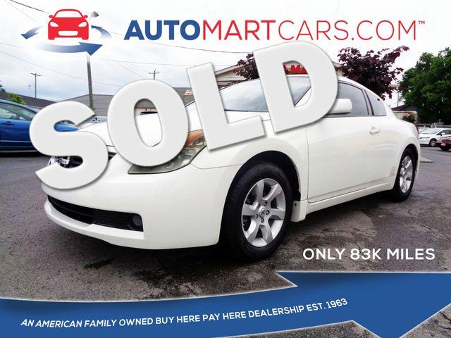 2008 Nissan Altima 2.5 S | Nashville, Tennessee | Auto Mart Used Cars Inc. in Nashville Tennessee