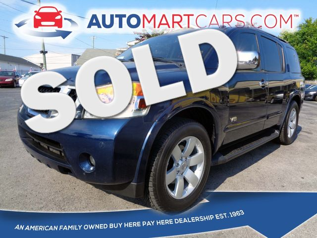 2008 Nissan Armada LE in Nashville, Tennessee 37211
