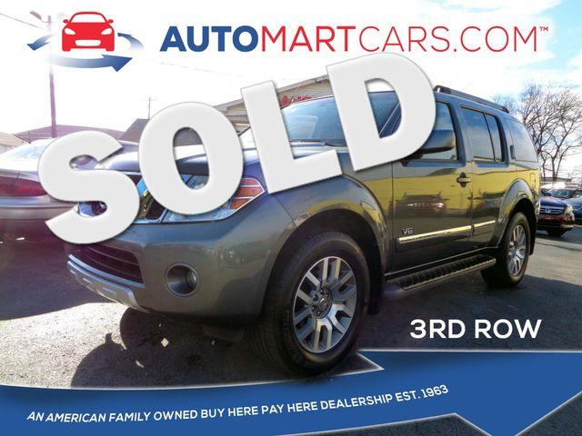 2008 Nissan Pathfinder LE | Nashville, Tennessee | Auto Mart Used Cars Inc. in Nashville Tennessee