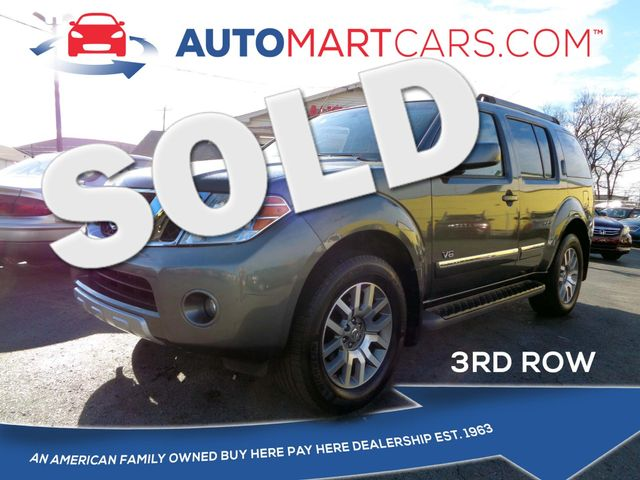 2008 Nissan Pathfinder LE | Nashville, Tennessee | Auto Mart Used Cars Inc. in Nashville Tennessee