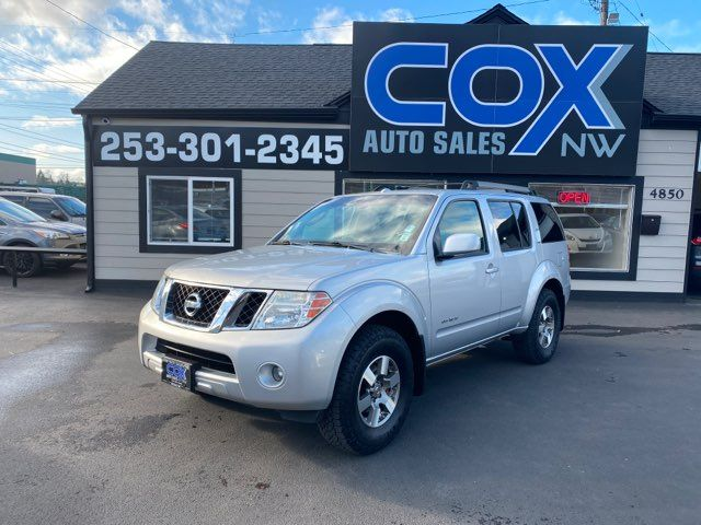 2008 Nissan Pathfinder SE Off Road in Tacoma, WA 98409