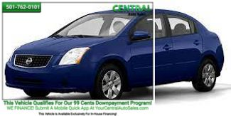2008 Nissan Sentra 2.0 S   Hot Springs, AR   Central Auto Sales in Hot Springs AR