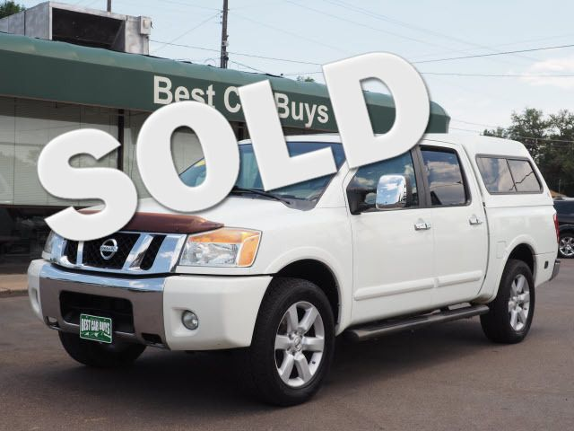 2008 Nissan Titan LE Englewood, CO 0