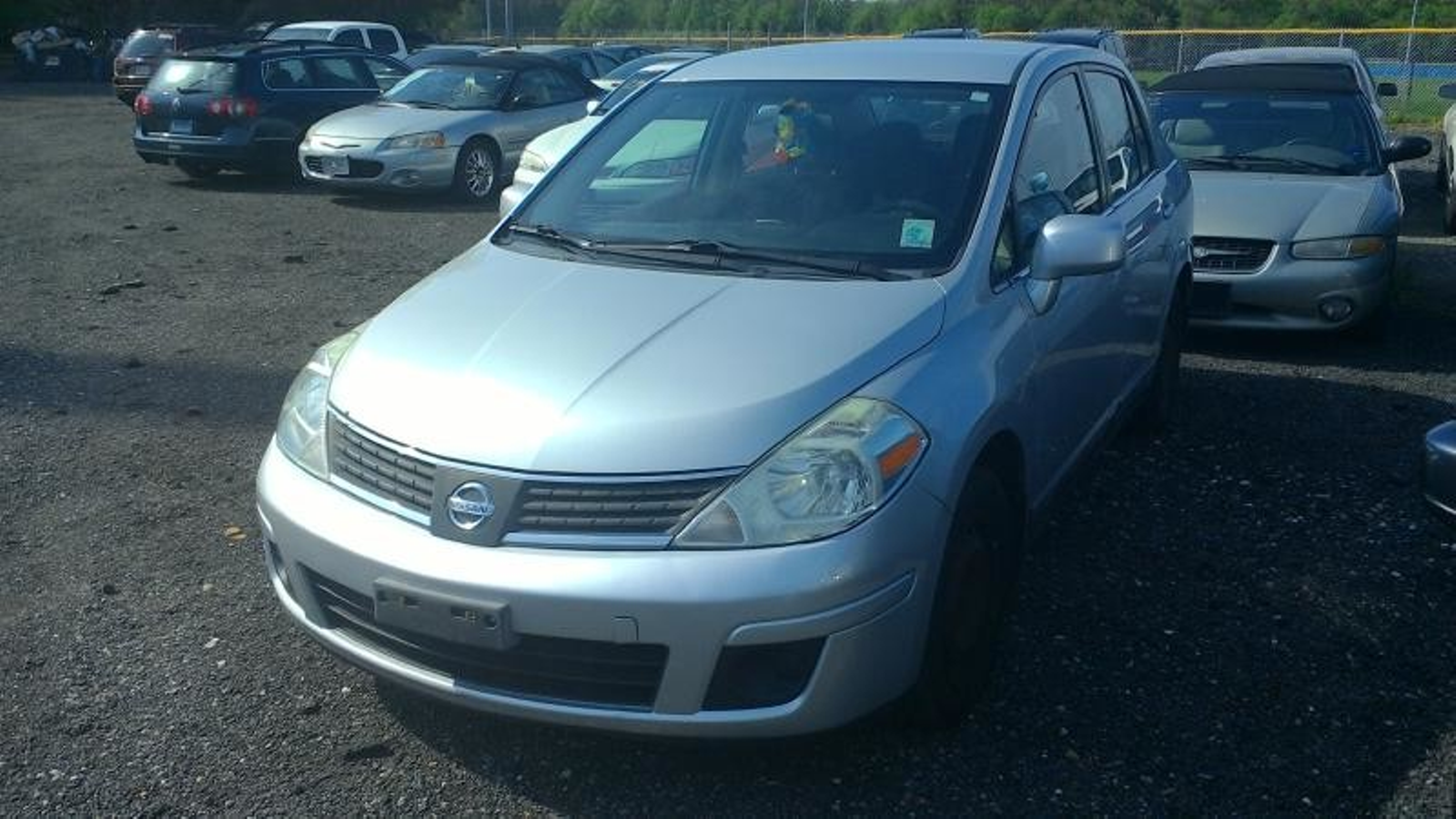 2008 Nissan Versa 18 S City Md South County Public Auto Auction Schematic Electric In Harwood