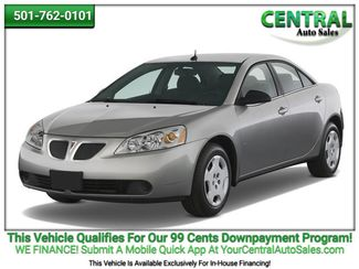 2008 Pontiac G6 1SV Value Leader | Hot Springs, AR | Central Auto Sales in Hot Springs AR