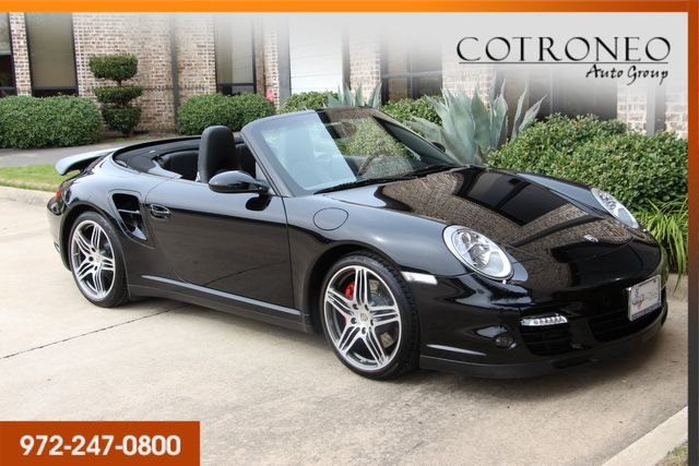 2008 Porsche 911 Turbo Cabriolet in Addison, TX 75001