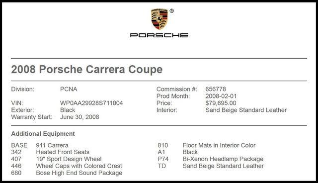 2008 Porsche 911 Carrera-[ 2 ]