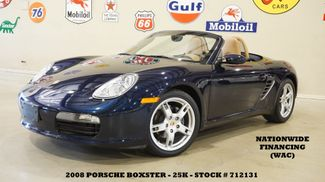 2008 Porsche Boxster Convertible AUTO,PWR TOP,HTD LTH,18IN WHLS,25K in Carrollton TX, 75006