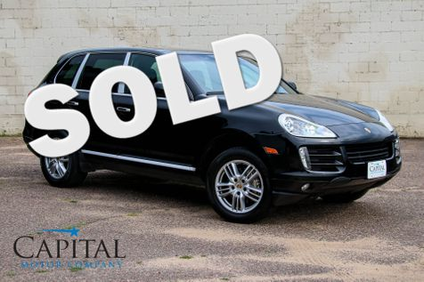 2008 Porsche Cayenne S AWD Sport SUV w/Navigation, Heated Seats, BOSE Audio, Moonroof & 18