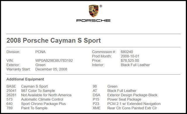 2008 Porsche Cayman S Sport-[ 2 ]