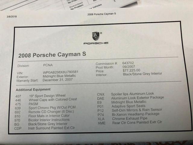2008 Porsche Cayman S Longwood, FL 37