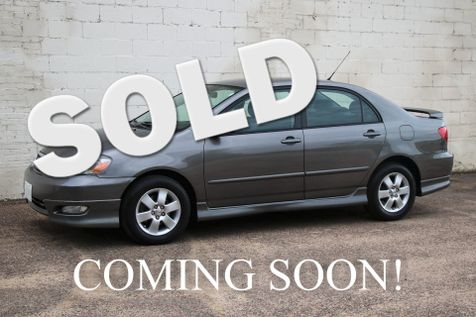 2008 Toyota Corolla S w/Sport Plus Package, Cruise Control, A/C, Keyless Entry & Gets 35MPG in Eau Claire