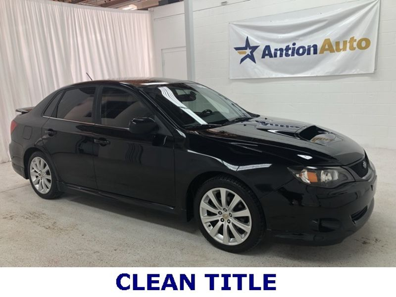 2008 Subaru Impreza WRX w/Sat/Nav | Bountiful, UT | Antion Auto in Bountiful UT