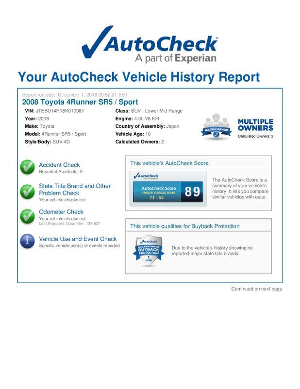 2008 Toyota 4Runner SR5  city Illinois  Ardmore Auto Sales  in West Chicago, Illinois