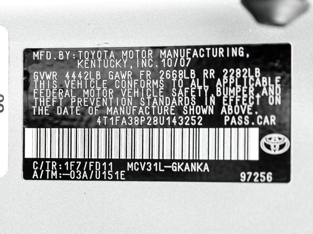 2008 Toyota Camry Solara Sport Burbank, CA 24