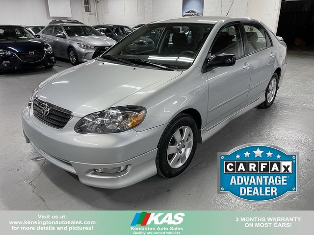 2008 Toyota Corolla S in Kensington, Maryland 20895