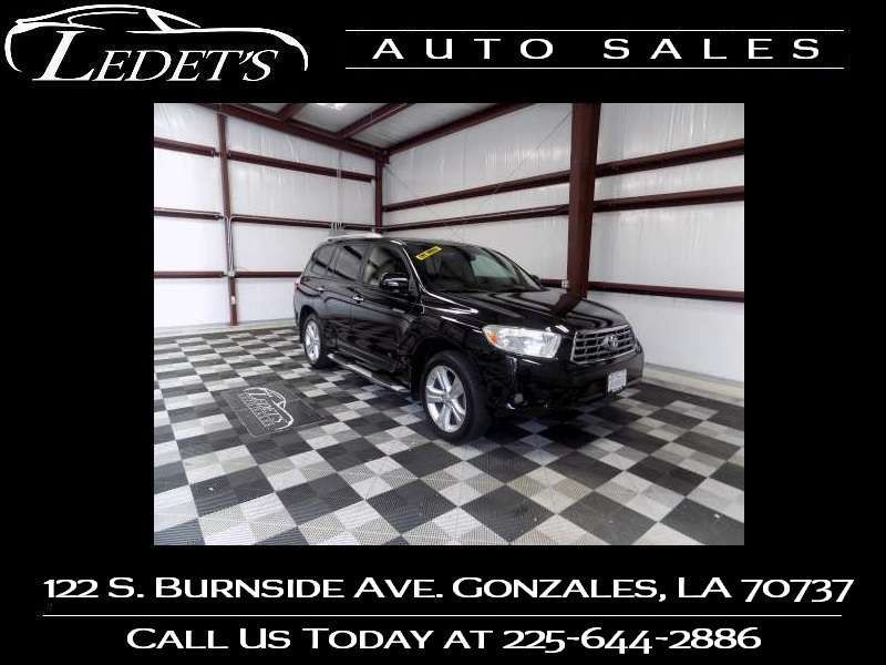 2008 Toyota Highlander Limited - Ledet's Auto Sales Gonzales_state_zip in Gonzales Louisiana