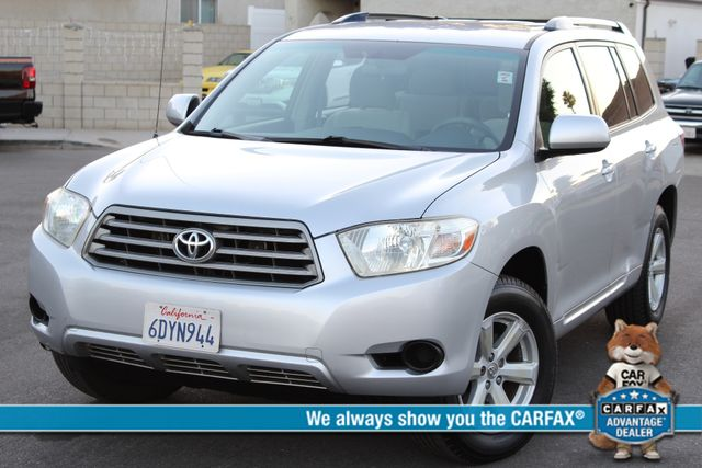 2008 Toyota HIGHLANDER SPORT 4WD 3RD ROW SEATS 1-OWNER SERVICE RECORDS