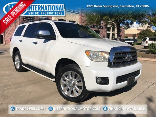 2008 Toyota Sequoia Platinum ONE OWNER in Carrollton, TX 75006