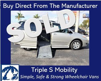 2008 Toyota Sienna Le Wheelchair Van Handicap Ramp Van in Pinellas Park, Florida 33781