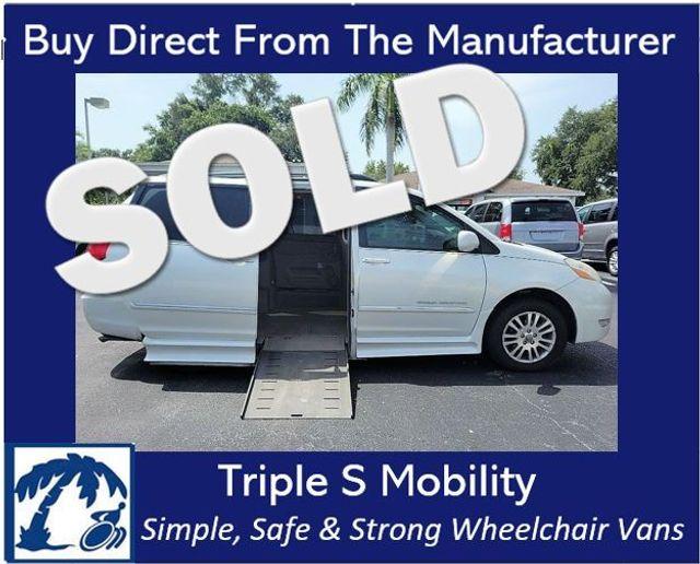 2008 Toyota Sienna Ltd Wheelchair Van Handicap Ramp Van
