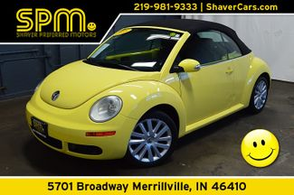 2008 Volkswagen New Beetle SE Convertible in Merrillville, IN 46410
