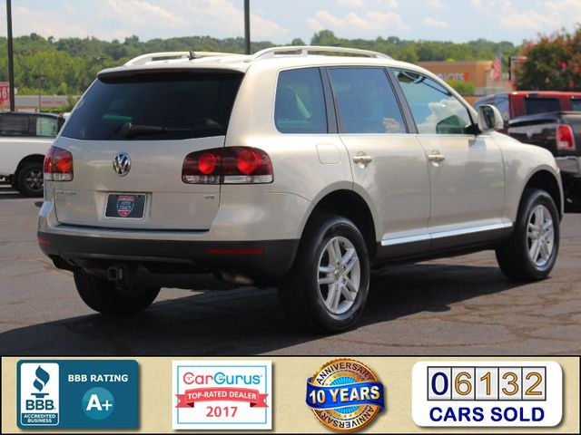 2008 Volkswagen Touareg 2 V6 4WD - LUX PLUS PKG - HEATED FRONT/REAR LEATHER! Mooresville , NC 2
