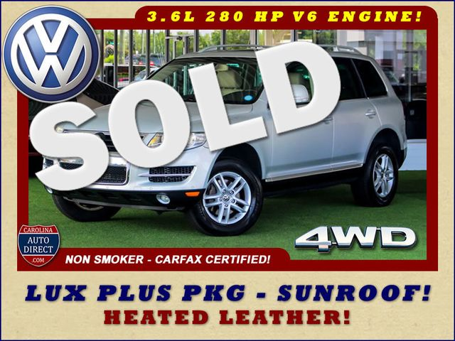 2008 Volkswagen Touareg 2 V6 4WD - LUX PLUS PKG - HEATED FRONT/REAR LEATHER! Mooresville , NC