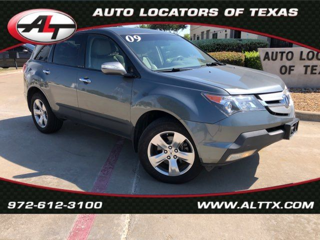 2009 Acura MDX Sport/Entertainment Pkg