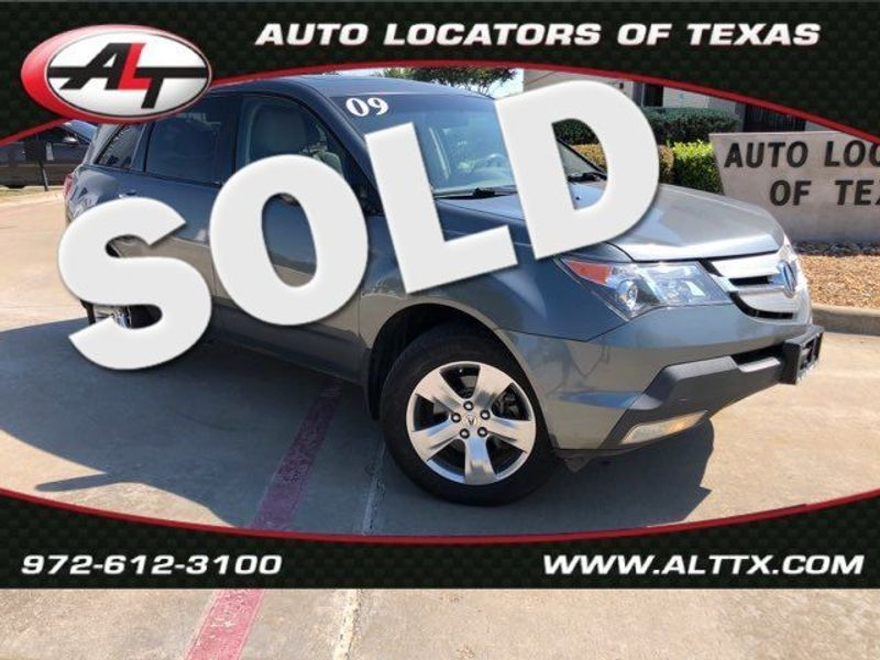 2009 Acura MDX Sport/Entertainment Pkg | Plano, TX | Consign My Vehicle in Plano TX