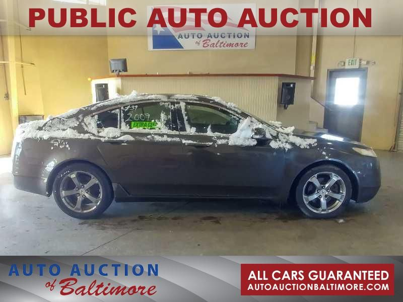 2009 Acura TL SH-AWD W/TECHNOLO    JOPPA, MD   Auto Auction of Baltimore  in JOPPA MD