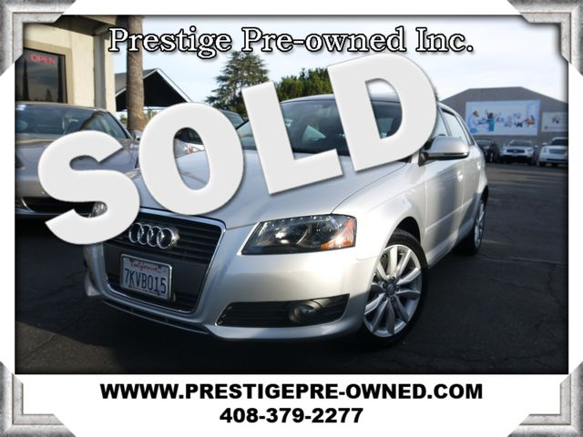 2009 Audi A3 PREM *AWD/NAVI/DUAL ROOF/LEATHER/COLD WEATHER PKG*  in Campbell CA