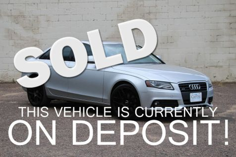 2009 Audi A4 Premium Plus 2.0T Quattro AWD Luxury Car with Navigation, Heated Seats & Blacked Out 18