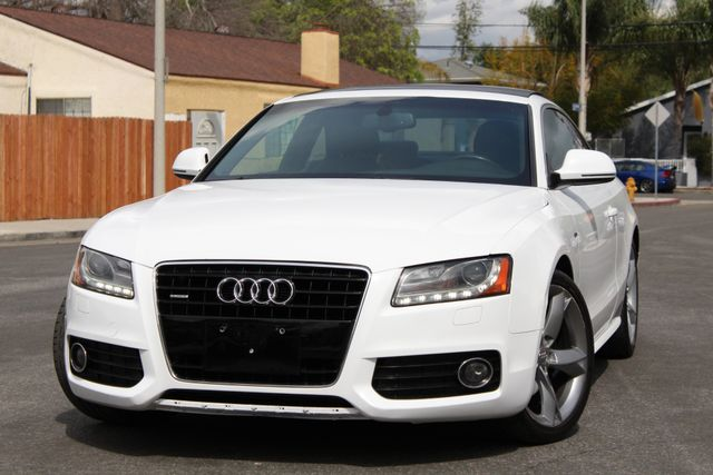 2009 Audi A5 S-LINE COUPE NAVIGATION MANUAL BACK-UP CAMERA SERVICE RECORDS AVAILABLE in Van Nuys, CA 91406