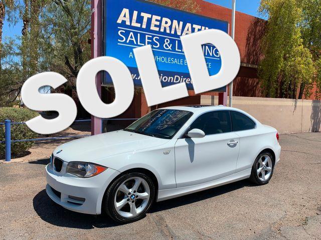 2009 BMW 128i 3 MONTH/3,000 MILE NATIONAL POWERTRAIN WARRANTY Mesa, Arizona