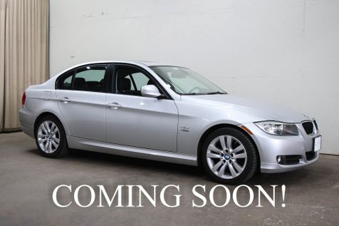 2009 BMW 328xi xDrive AWD with Heated Steering Wheel, Heated Seats, Power Moonroof, HiFi Audio w/Aux in Eau Claire