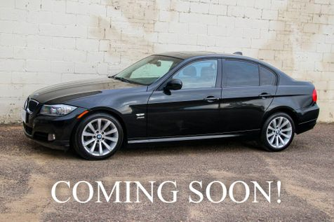 2009 BMW 328xi xDrive AWD w/6-Speed Manual, Heated Steering Wheel and Seats, Moonroof & Hi-Fi Audio in Eau Claire