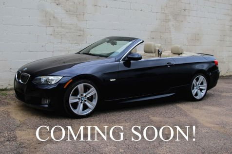2009 BMW 335i Hard Top Convertible with Sport Pkg, Heated Seats, Logic7 Audio Pkg & 18