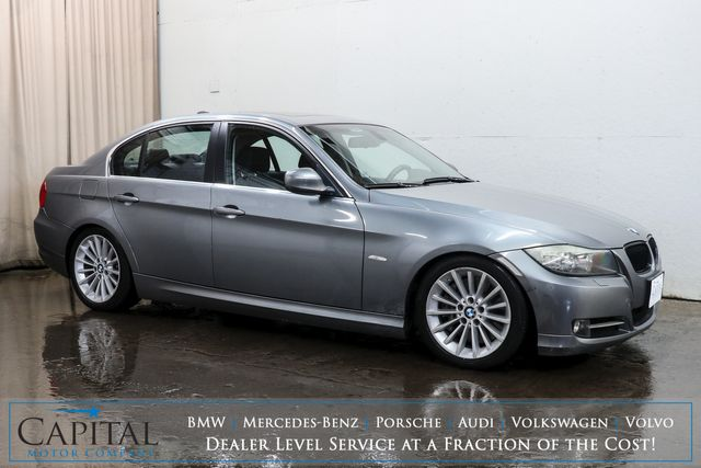 2009 BMW 335i Turbo Luxury-Sport Sedan w/Moonroof, Heated Seats, Xenon HIDs & M-Sport Steering Wheel