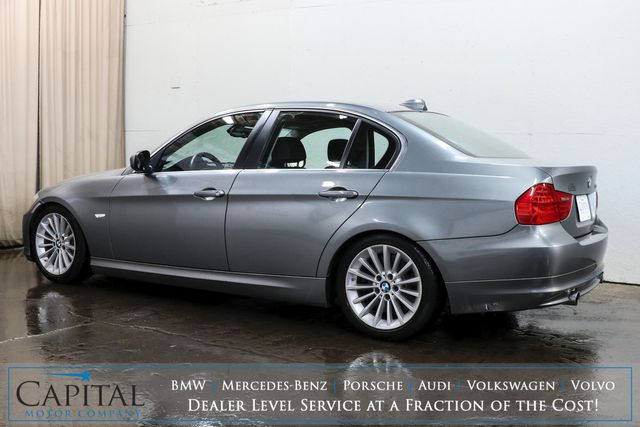 2009 BMW 335i Turbo Luxury-Sport Sedan w/Moonroof, Heated Seats, Xenon HIDs & M-Sport Steering Wheel in Eau Claire, Wisconsin 54703