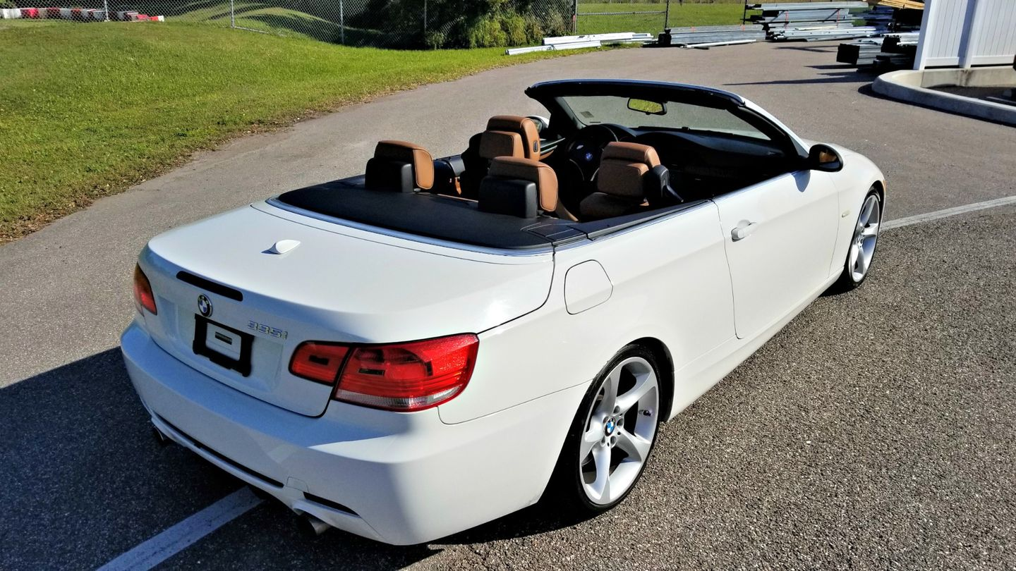 2009 Bmw 335i I Hardtop Convertible Clean Carfax Palmetto Fl Ea Motorsports In