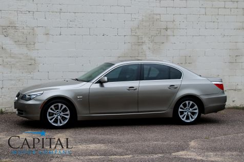 2009 BMW 535xi xDrive AWD Luxury Car with Navigation, Heated Front/Rear Seats and Keyless Entry & Start in Eau Claire