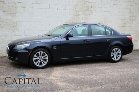 2009 BMW 535xi xDrive AWD w/Navigation, Heated Seats, Moonroof, Xenon Lights & Hi-Fi Audio in Eau Claire