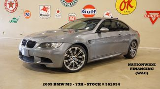 2009 BMW M3 Coupe AUTO,ROOF,HTD LTH,19IN WHLS,73K,WE FINANCE in Carrollton, TX 75006