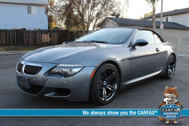 2009 BMW M6 CONVERTIBLE 94k MLS NEW TIRES SERVICE RECORDS XLNT CONDITION