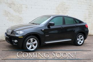 """2009 BMW X6 xDrive50i AWD V8 Crossover w/Sport Pkg, Nav, Moonroof, DVD Entertainment System & 19"""" Rims in Eau Claire, Wisconsin 54703"""