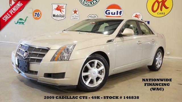 2009 Cadillac CTS Sedan RWD w/1SA AUTO,HTD LTH,6 DISK CD,49K,WE FINANCE